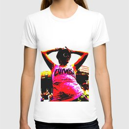 Zumba dancer dancing T-shirt