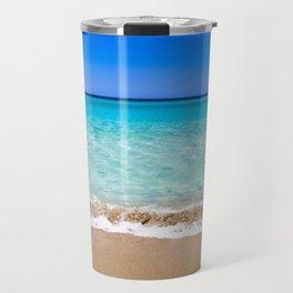 Beach on Crete Travel Mug