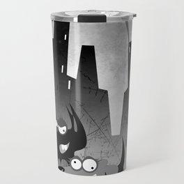 City night crawlers b/w Travel Mug