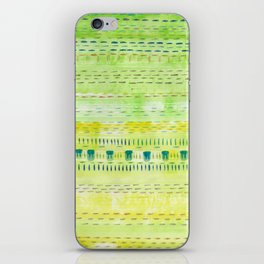 Meadow Stitch iPhone Skin