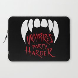Vampires party harder Laptop Sleeve