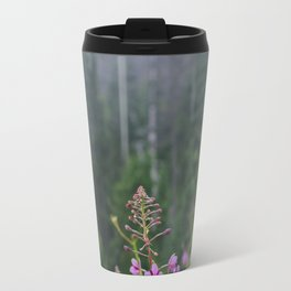 Fire Flowers Travel Mug
