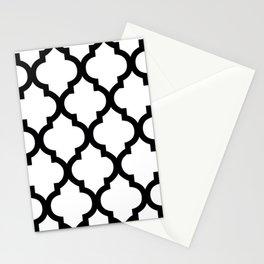Moroccan B&W III Stationery Cards