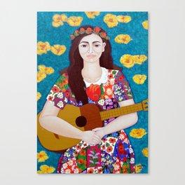 Violeta Parra -The gardener Canvas Print