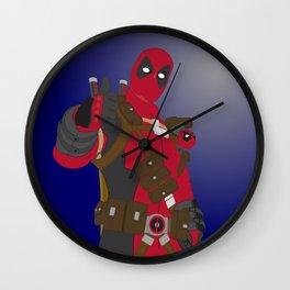 Dead Pool (Vector Artwork) Wall Clock