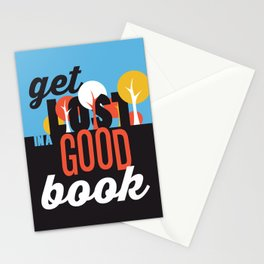 Get Lost - Just Read Stationery Cards