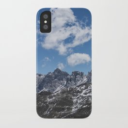 Mountain Clouds // Landscape Photography iPhone Case