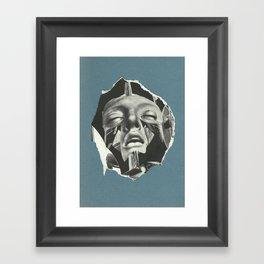 cold_calculated_loveaffair Framed Art Print