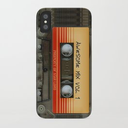 Awesome transparent mix cassette tape volume 1 iPhone 4 4s 5 5c 6, pillow case, mugs and tshirt iPhone Case