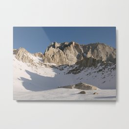 Iceberg Lake Metal Print