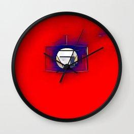 Luna Roja Wall Clock