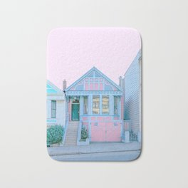 San Francisco Painted Lady Victorian House Bath Mat