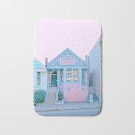San Francisco Painted Lady Victorian House Bath Mat