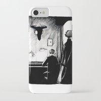 221b iPhone & iPod Cases featuring A 221B Scene by Carrianne Bullard