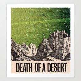 Death of a Desert Art Print