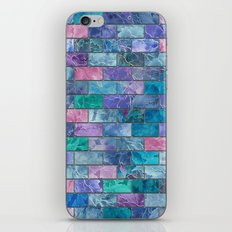 Frozen Leaves Tile Pattern 2 iPhone & iPod Skin