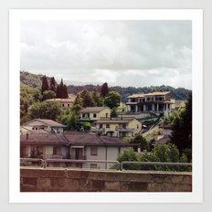 Rignano, Italy Art Print