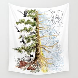 The Woods and The Water Wall Tapestry