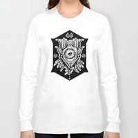 all seeing eye Long Sleeve T-shirts featuring All Seeing Eye by girlxboy