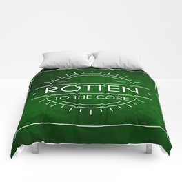 ROTTEN TO THE CORE Comforters