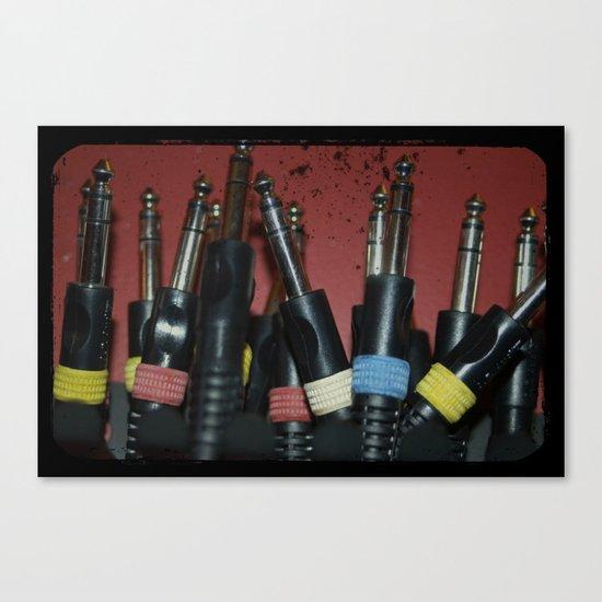 PatchCables Canvas Print