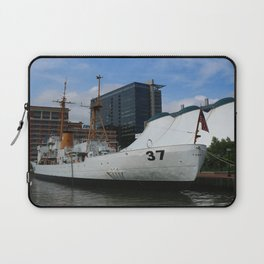 Coast Guard Cutter Taney Baltimore Harbor Laptop Sleeve