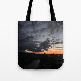 Sunrise in Georgia // #TravelSeries Tote Bag