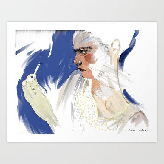 Tweeze Art Print