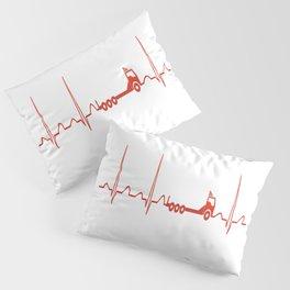 TRUCK HEARTBEAT Pillow Sham