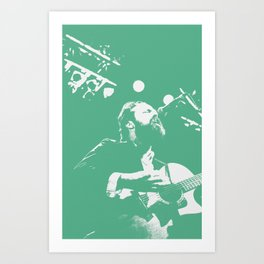 Iron & Wine Art Print