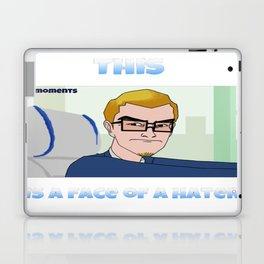 Hater Face Laptop & iPad Skin