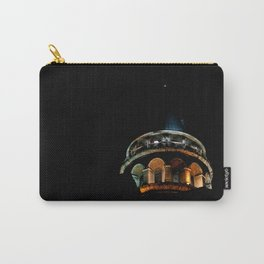 Galata Tower in the dark Carry-All Pouch