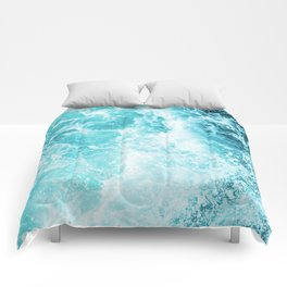 Perfect Sea Waves Comforters