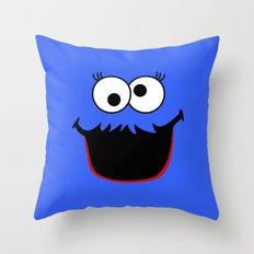 Gimme Those Cookies Girl! Throw Pillow