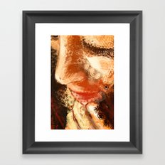 Night Pose 2 Framed Art Print