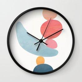 Balancing Stones 21 Wall Clock