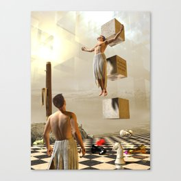 Crucified with Christ Canvas Print