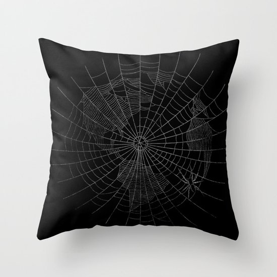 The World Wide Web Throw Pillow