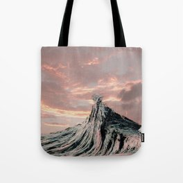 WAVE # 2 - sky Tote Bag