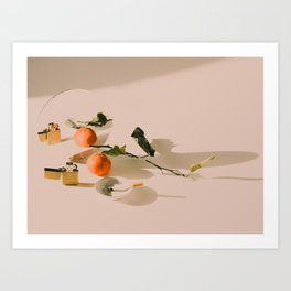 Citrus and Reds Art Print