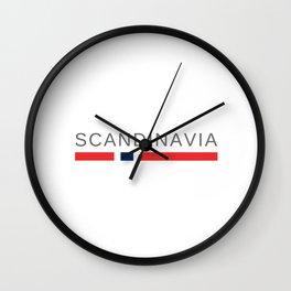 Scandinavia Wall Clock
