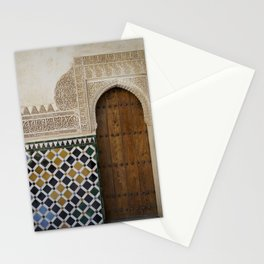 Alhambra Door Stationery Cards