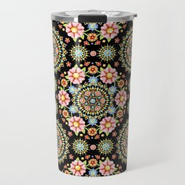 Flower Crown Fiesta Travel Mug