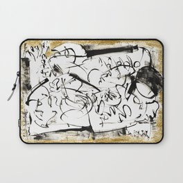 Things to Carry - b&w Laptop Sleeve