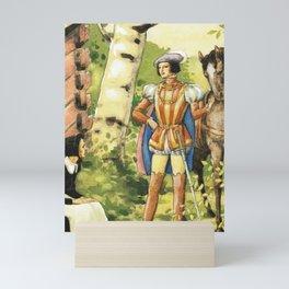 The Prince Arrives By Rudolf Koivu Mini Art Print