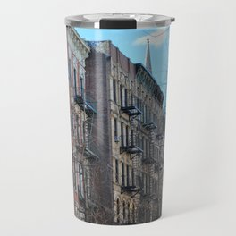 East Village Apartments Travel Mug
