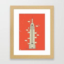 Empire State Building - Print Framed Art Print