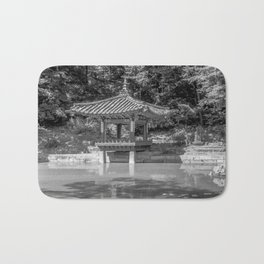 The aeryeonjeong in the Aeryeonji Pond of the secret garden - Changdeokgung Palace Bath Mat