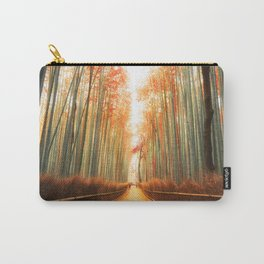Arashiyama Bamboo Forest in Kyoto, Japan Carry-All Pouch
