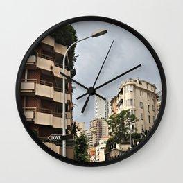 Love Street Wall Clock